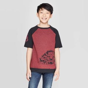 Aladdin French Terry Short Sleeve Top